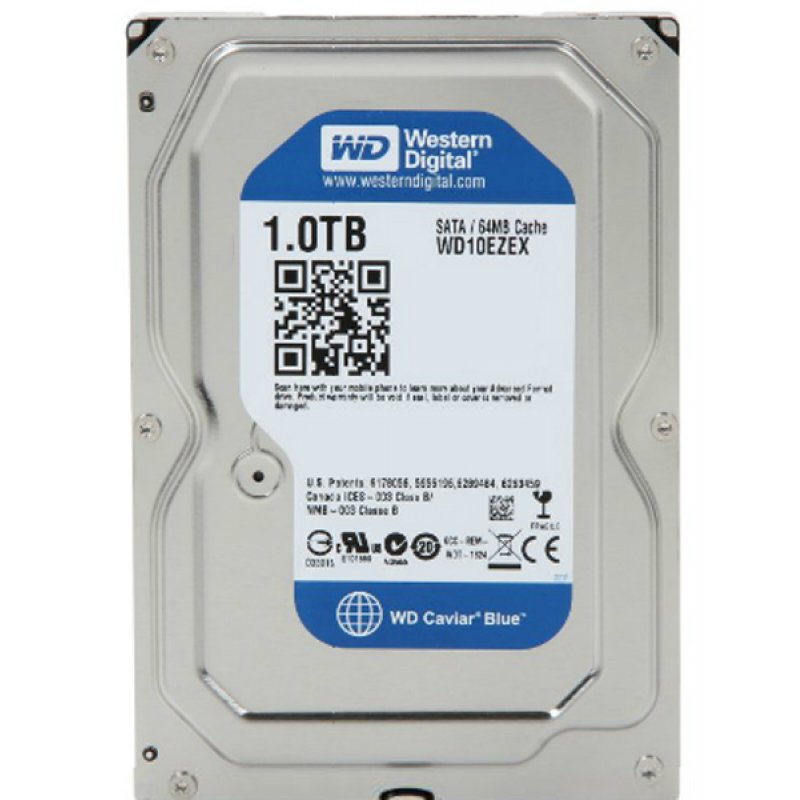 Western Digital WD10EZEX 1TB Internal Hard Drive - reviewradar.in