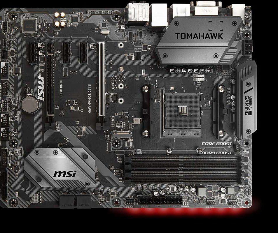 MSI Arsenal B450 Tomahawk - reviewradar.in