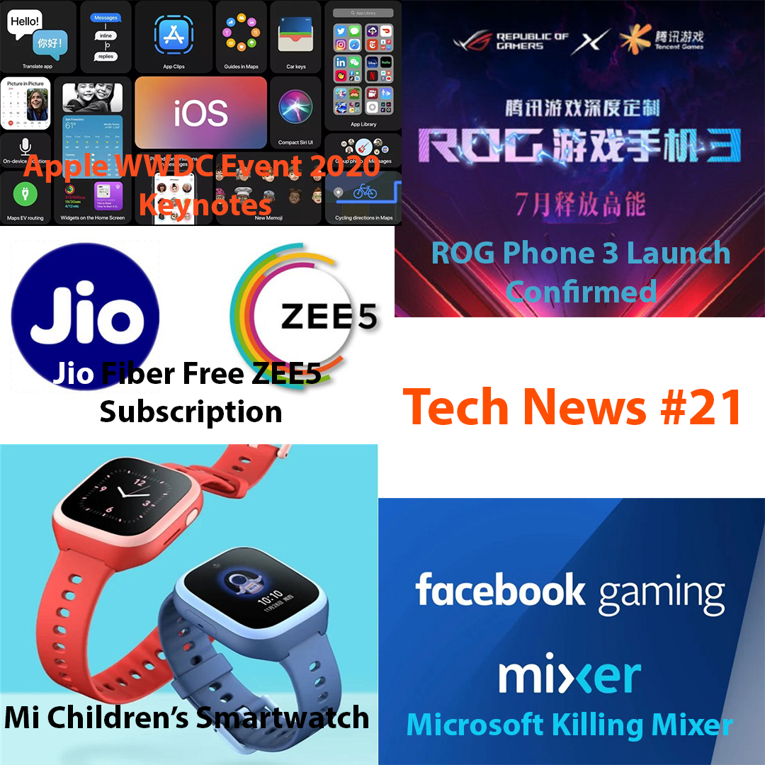 Tech News #21 – June 23, 2020