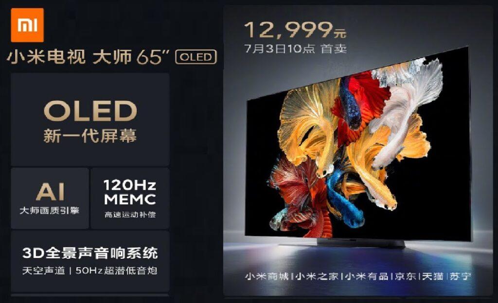 Mi TV Master 4K OLED 120Hz